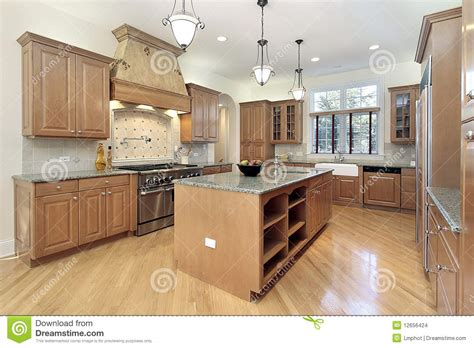 new construction kitchen kitchen in new construction home stock images image