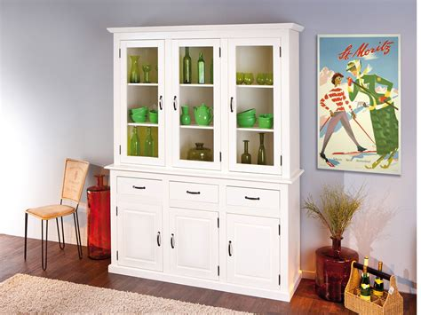 aparador y vitrina comedor aparador de comedor blanco con puertas cajones y estanter 237 a