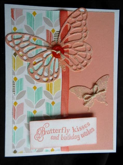 Handmade Cards Ebay - handmade birthday card glittered butterfly using stin