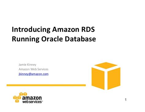 amazon rds introducing amazon rds using oracle database