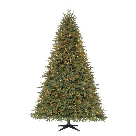 home depot winterberry outdoorlit tree ge 7 ft white winterberry branch tree with led lights 21052hd the home depot