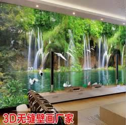Marvelous Papier Peint Imprime #8: 2015-1-sq-M-3d-paysage-peinture-Nature-murale-Ikea-autocollant-de-papier-peint-fresque-d�coration.jpg_640x640.jpg