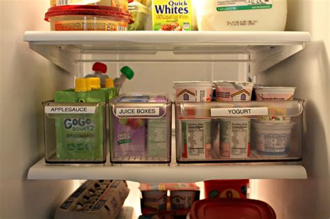 Refrigerator Shelf Labels by 7 Tips To Organize Your Fridge Fairfield Residential
