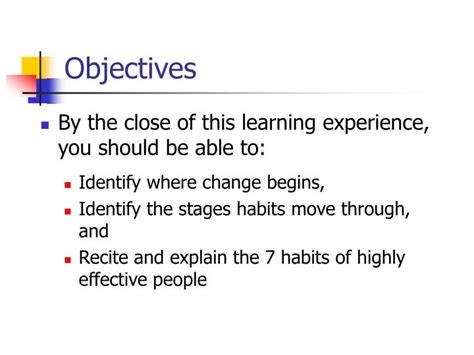 Habits Ppt Ppt The 7 Habits Of Highly Effective Powerpoint Presentation Id 5823693