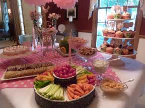 Table Food For Babies by Baby Shower Food Table