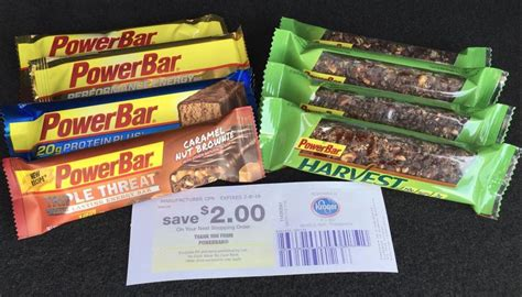 whoa better than free power bars at kroger new powerbar free bars 2 00 money maker at