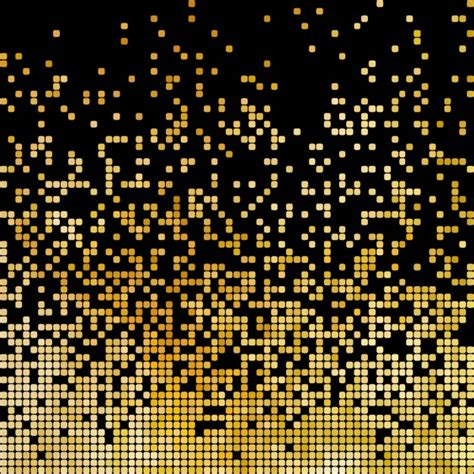 free pixel pattern background golden abstract background vector free download