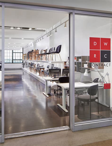 design center showrooms dwr contract launches new showroom at boston design center