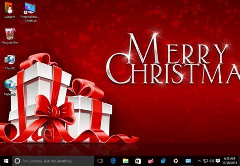 christmas themes for windows 8 christmas 2015 theme for windows 10 windows 7 and windows 8