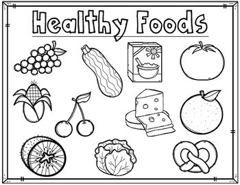 how to make black out of food coloring healthy foods comida saludable coloring sheets are great
