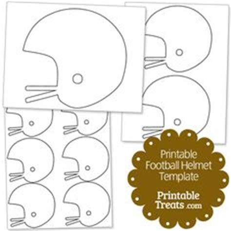 Football Helmet Pattern Use The Printable Outline For Crafts Creating Stencils Scrapbooking Football Yard Sign Template