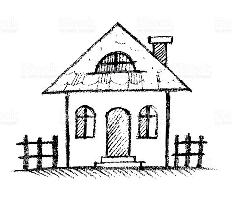 house line drawing images stock photos vectors shutterstock sketch hand drawn house stock vector art more images of