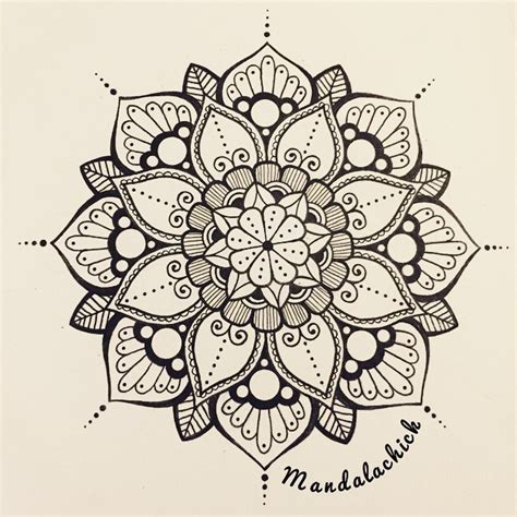 flower tattoo design mandala on instagram