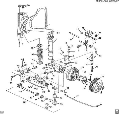 buick parts diagram buick lesabre rear suspension diagram buick tractor