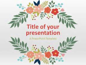 Flowers Powerpoint Template by Floral Powerpoint Template Presentationgo