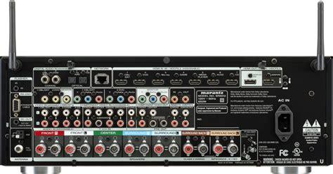 marantz sr  ch   watts networking av receiver