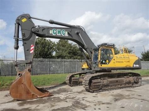 volvo ec  crawler excavator  united kingdom  sale  truck id