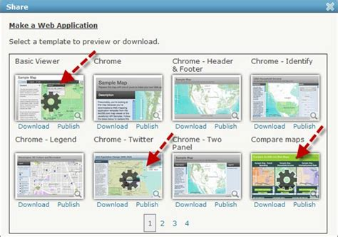 layout arcgis template publish your custom applications via arcgis online arcwatch