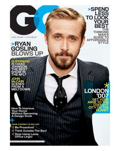 ryan gosling gq hairstyle ryan gosling gq hairstyle 50 years of gq covers gq cover