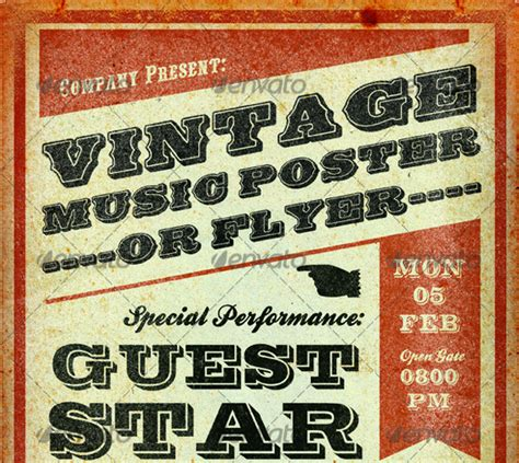 templates for music posters 25 best free premium music poster templates designmaz