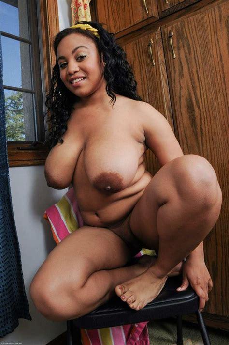Tasty Naked Black Girl Teasing In Chair From Blackgirlslust Com
