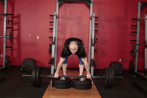 deadlift from deficit exercise guide and