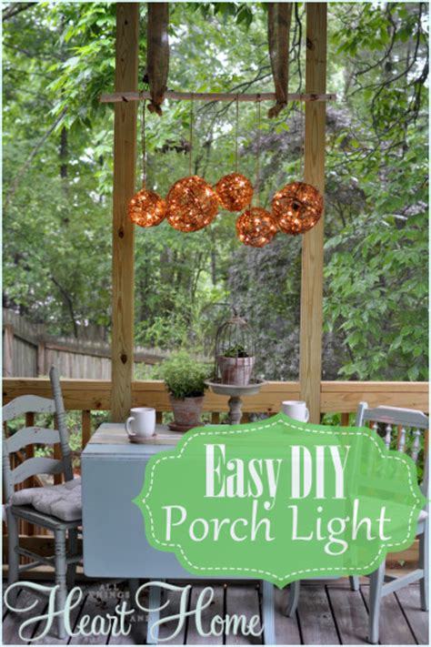 Diy Outdoor Lighting Easy Diy Outdoor Chandelier All Things And Home