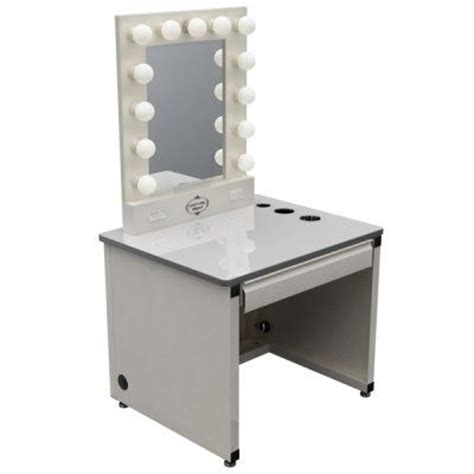 Lighted Makeup Vanity Table Broadway Lighted Vanity Makeup Desk By Vanity Omg I Want And Need This