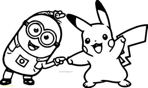 pikachu christmas coloring pages pikachu coloring pages with minion pikachu dance pokemon