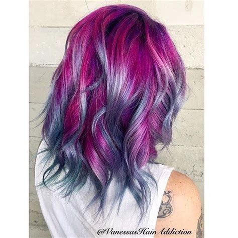bright colored hair best 25 teal ombre hair ideas on