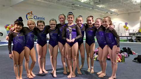 Great Northern Gymnastics Level 5 Girls Gymnastics Team