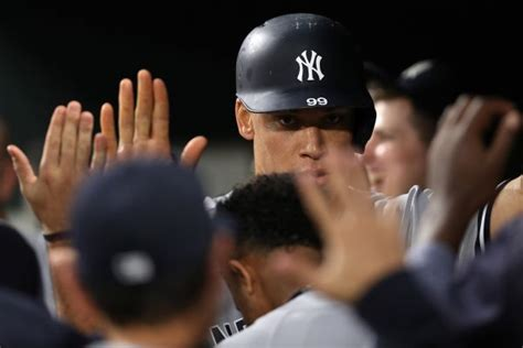aaron judge named al rookie of month for may newsday