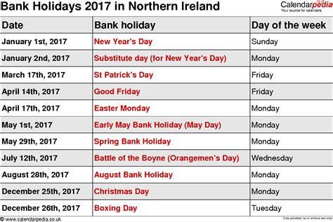Calendar 2018 Uk Including Bank Holidays 2017 Calendar With Holidays Calendar Template 2016