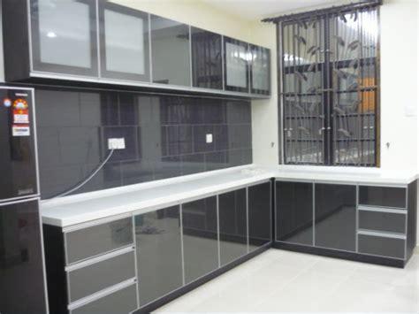 Kabinet Acrylic Bumipro Kitchen Cabinet And Wardrobe L Shape