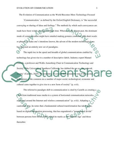 communication and technology essay how to make a professional
