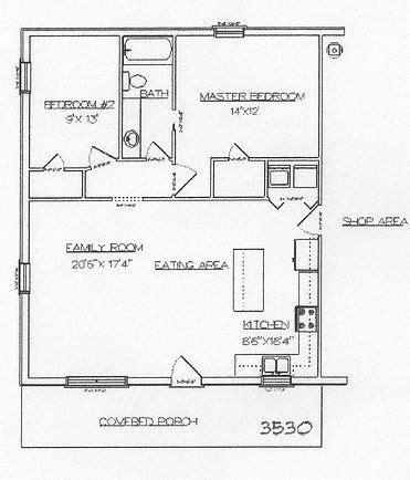 30x40 House Floor Plans Barndominium Floor Plans 40x60 Studio Design Gallery Best Design
