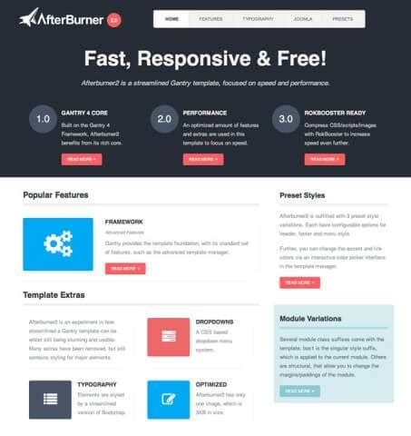 11 best free responsive joomla templates 2017 useful