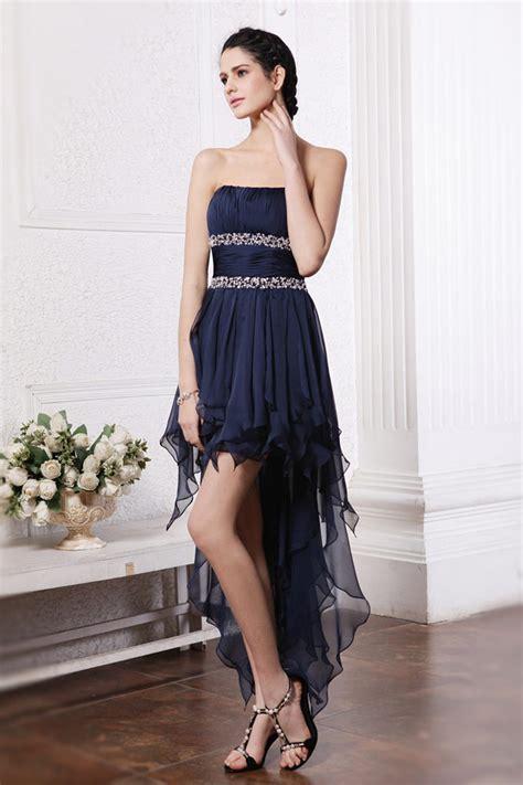 Robe Courte Devant Longue Derriere Soiree - robe soir 233 e bleu courte devant longue derri 232 re pour