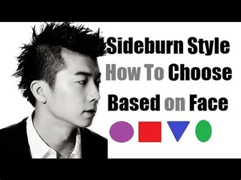 Sideburn Styles: How To Choose Best Sideburns Based On Face Shape   YouTube