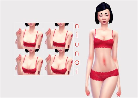 sims 4 overlay skin cleavage pixelsimdreams tumblr