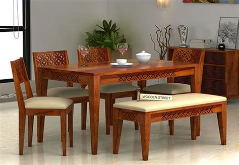 6 Seater Dining Table Online Six Seater Dining Table Set Dining Table Sets India