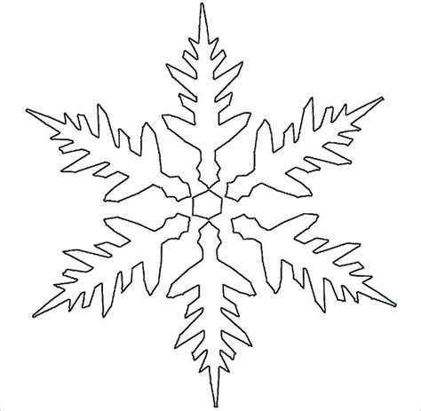 17 snowflake stencil template free printable word pdf unique snowflake stencil template photo exle resume