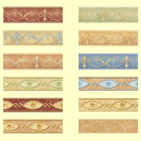 greche per pareti interne bordi decorativi per muri sanotint light tabella colori