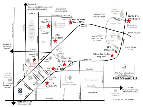 map of fort stewart fort stewart map fort stewart mwr morale welfare and