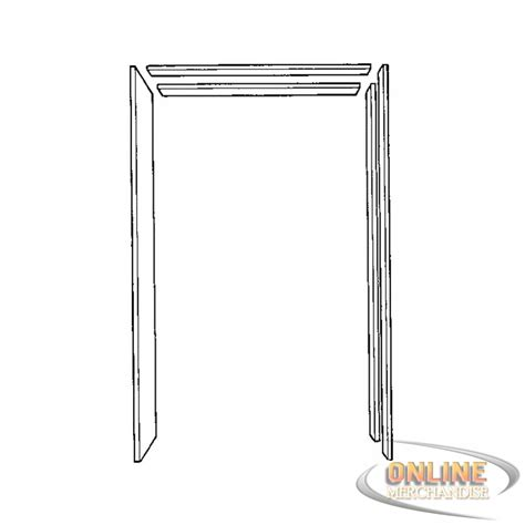 door frame kit johnson prod 15113068 pocket door frame jamb kit free ship