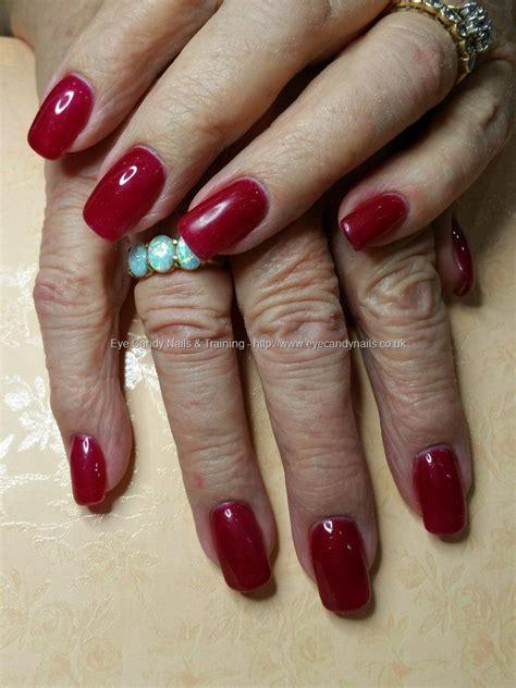 S66 Slippers eye nails ruby slippers glitter gel