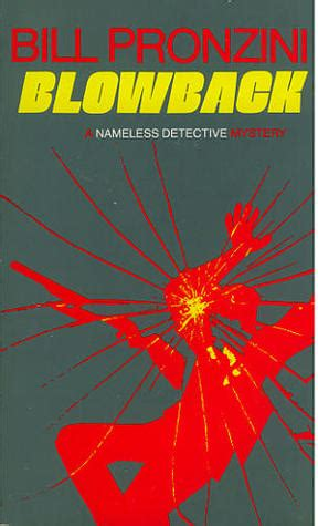 Blowback The Nameless Detective blowback nameless detective 4 by bill pronzini
