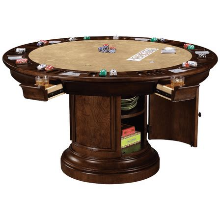 ithaca poker table  howard miller executive gift shoppe