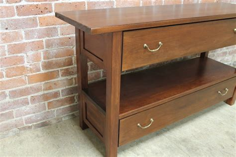 solid wood console table with drawers solid wood console table with 2 large drawers lake and