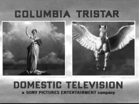 columbia tristar domestic television bw logo   youtube